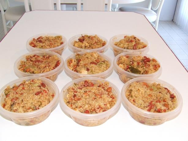 Cheryl's Chicken & Quinoa Skillet - Ww Points = 9