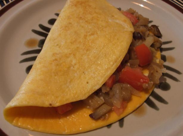 Eggplant Omelet