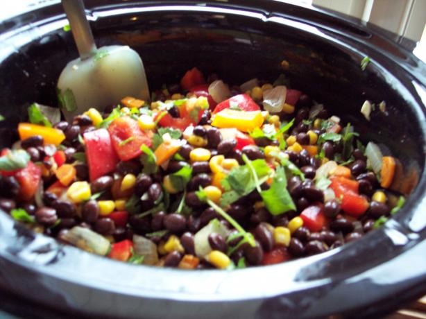 Crock Pot Black Bean Burritos
