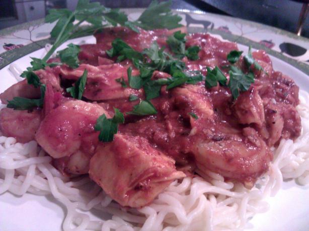 Jambalaya Spaghetti