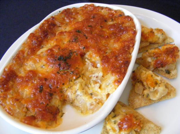 Baked Onion Dip Appetizer