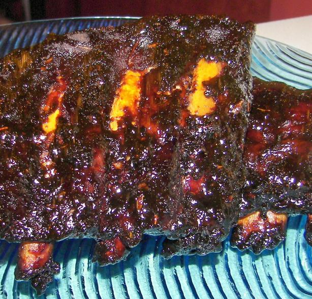 Delectable Apricot Ribs