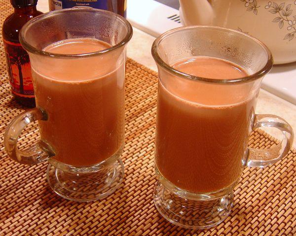 Rich Raspberry Hot Chocolate