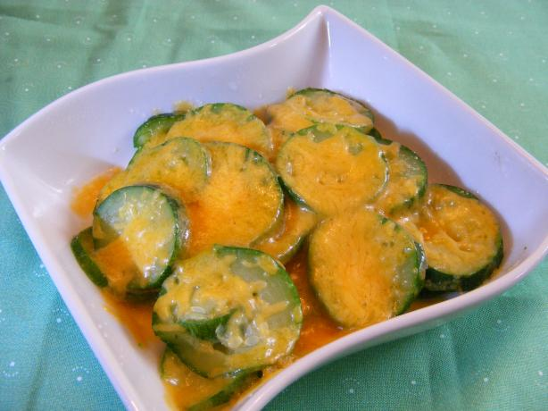 Grandma Mac's Cheesy Zucchini