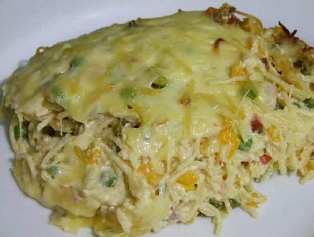 Cheesy Italian Spaghetti