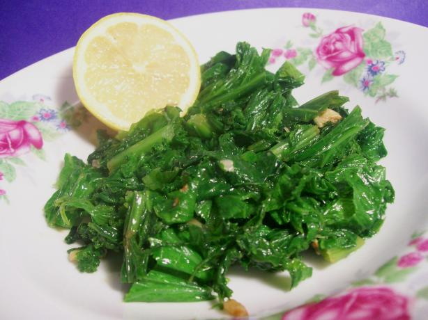Simple Saute for Chard