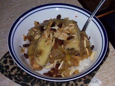 Fruity Chicken Casserole