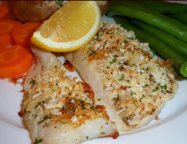 Cape Capensis, Baked With Herbs (Hake)