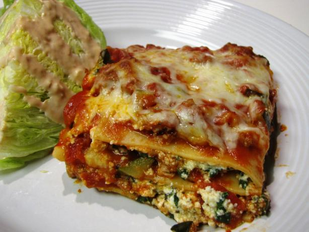 Hidden Delights Lasagna