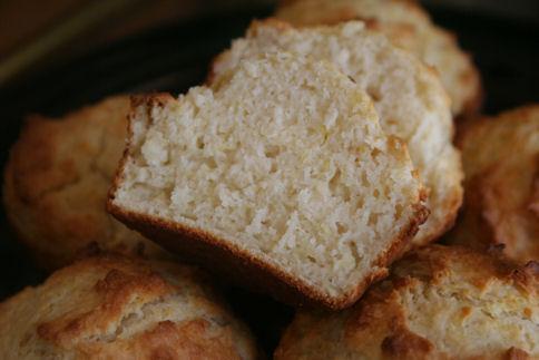 Martha's Bisquick Sour Cream Muffins