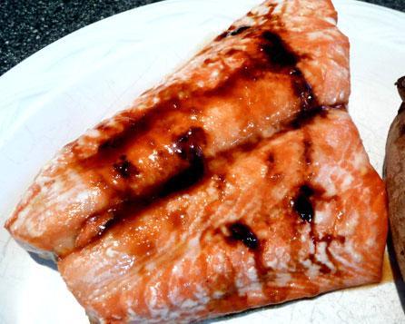 Wild Alaskan Sweet Bourbon Salmon