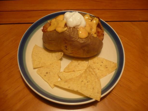 Nacho Baked Potatoes