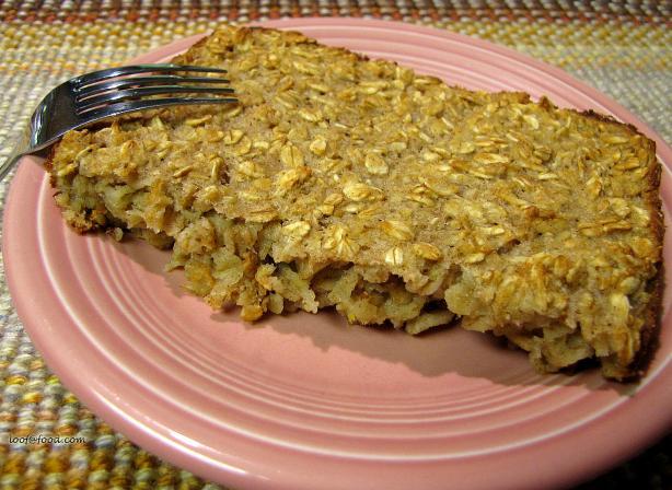 Healthier Baked Oatmeal