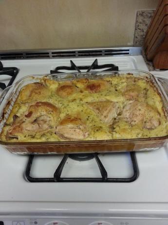 Popover Chicken Tarragon