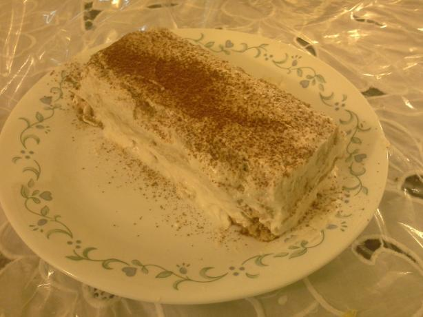 South Beach Diet Tiramisu