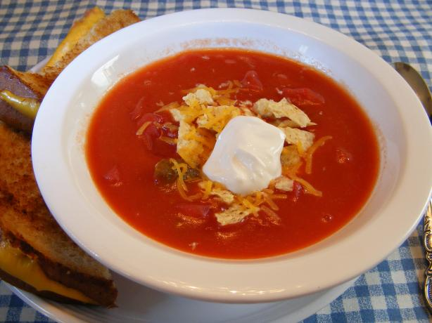Easy Tex-Mex Tomato Soup