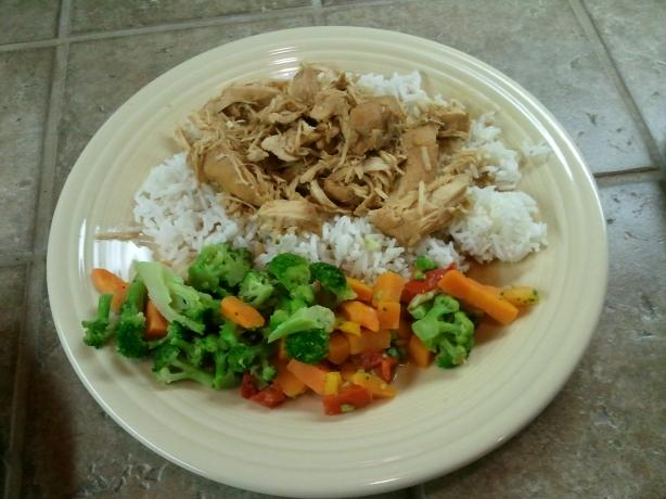Healthy Slow Cooker Polynesian Chicken