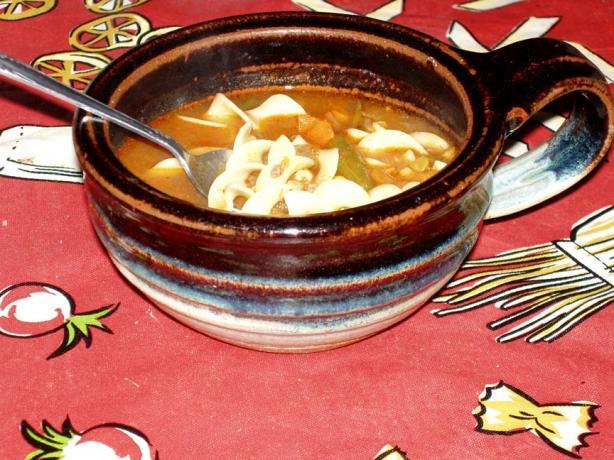 Spaghetti Sauce Soup
