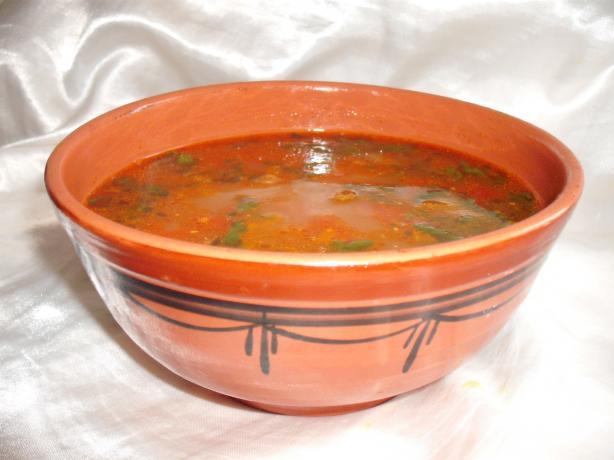 Algerian Chicken & Chickpea Soup ( Chorba / Shorba)