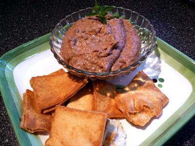 Smokey Black Bean Hummus