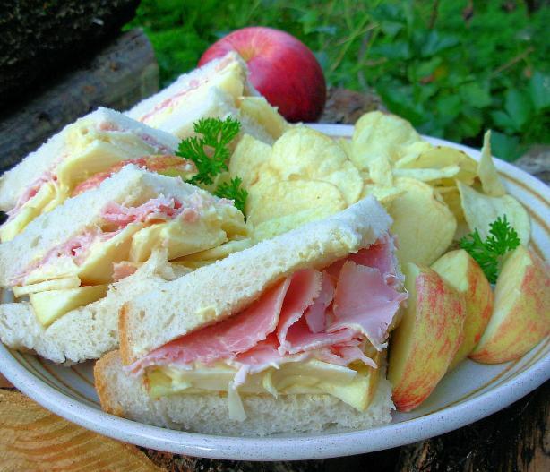 Maple Cheddared Grannied Sandwich