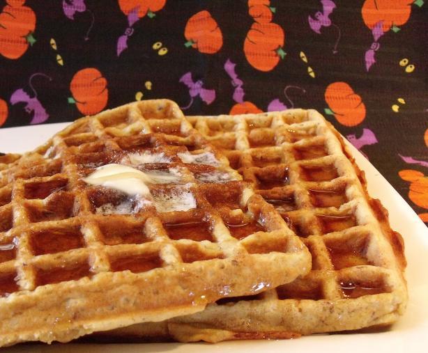 Halloween Waffles