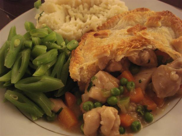Chicken Pie - Cheap and Cheerful