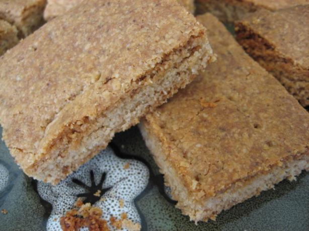 Orange Spice Shortbread