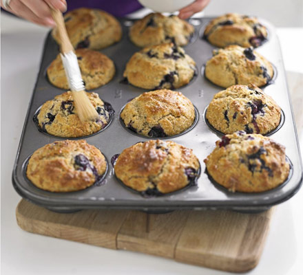 The ultimate makeover: Blueberry muffins