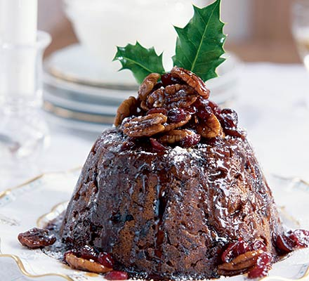 Light & fruity Christmas pud