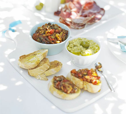 Artichoke & olive dip