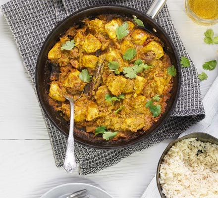 Cardamom butter chicken