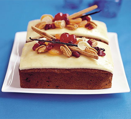 Cranberry pecan & ginger loaf