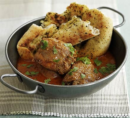 Aromatic chicken curry