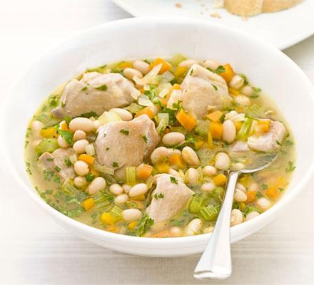 Chicken & white bean stew