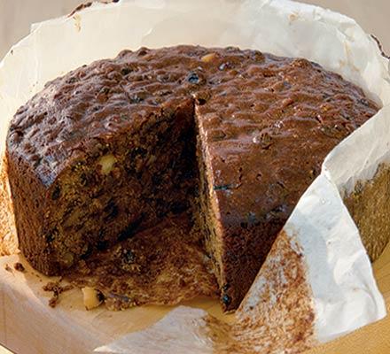 Simmer-&-stir Christmas cake