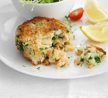 The best salmon fish cakes