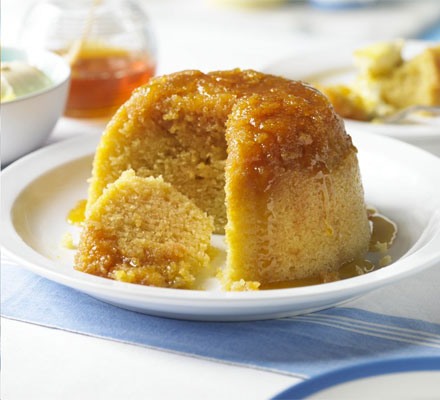 Schooldays treacle sponge