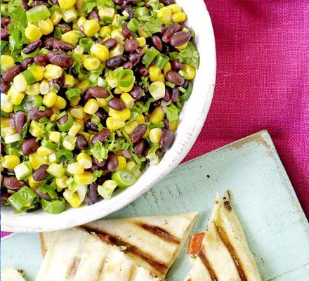 Corn & black bean salsa