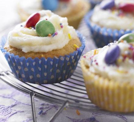Lily's lemon cupcakes