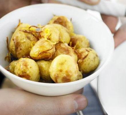 Lemon-roasted new potatoes