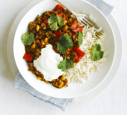 Mexican bean chilli