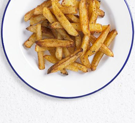 Baked skinny fries