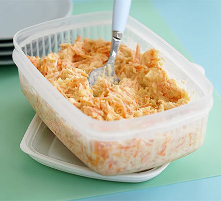 Healthy coleslaw