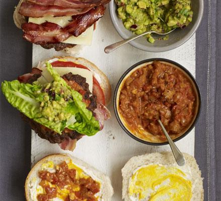 John Torode's big burger