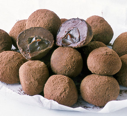 Melting middle truffles