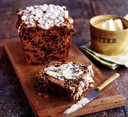 Sugar-crusted bara brith