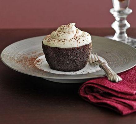 Black velvet baby cakes
