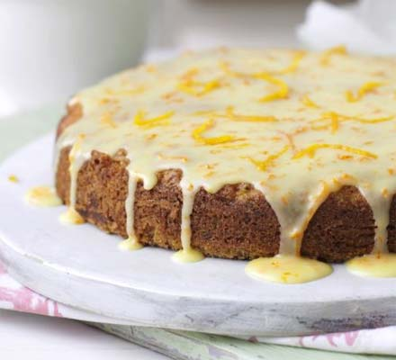 Carrot, courgette & orange cakes