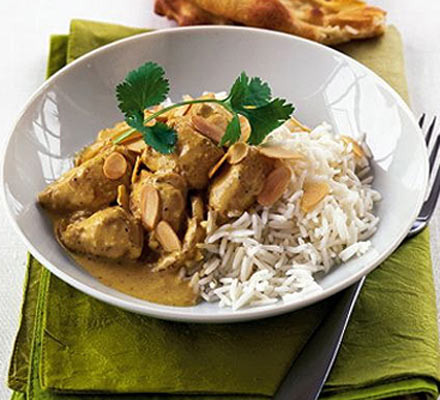 Light chicken korma